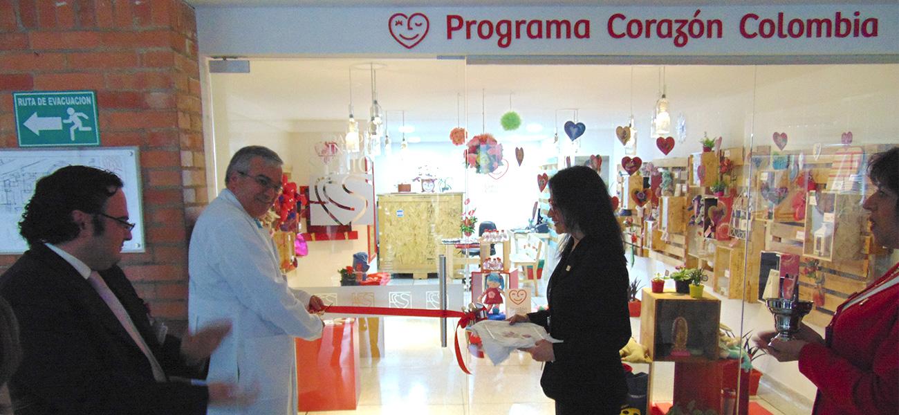 Apertura tienda Corazón Colombia