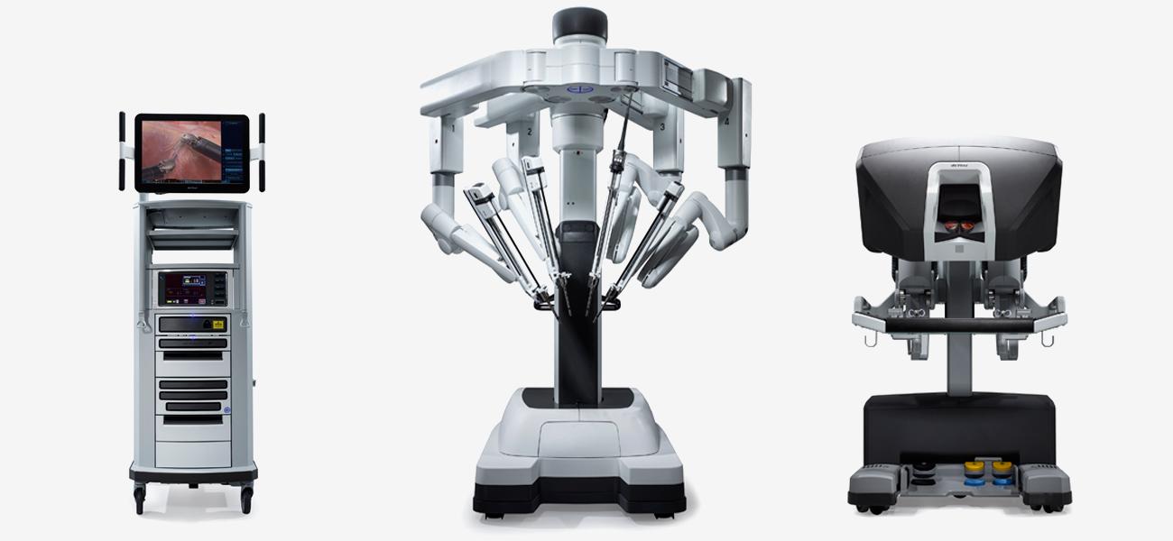 Da vinci cirugía robotica en Shaio