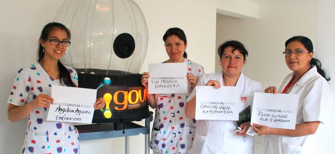 Día mundial de lavado de manos en Shaio
