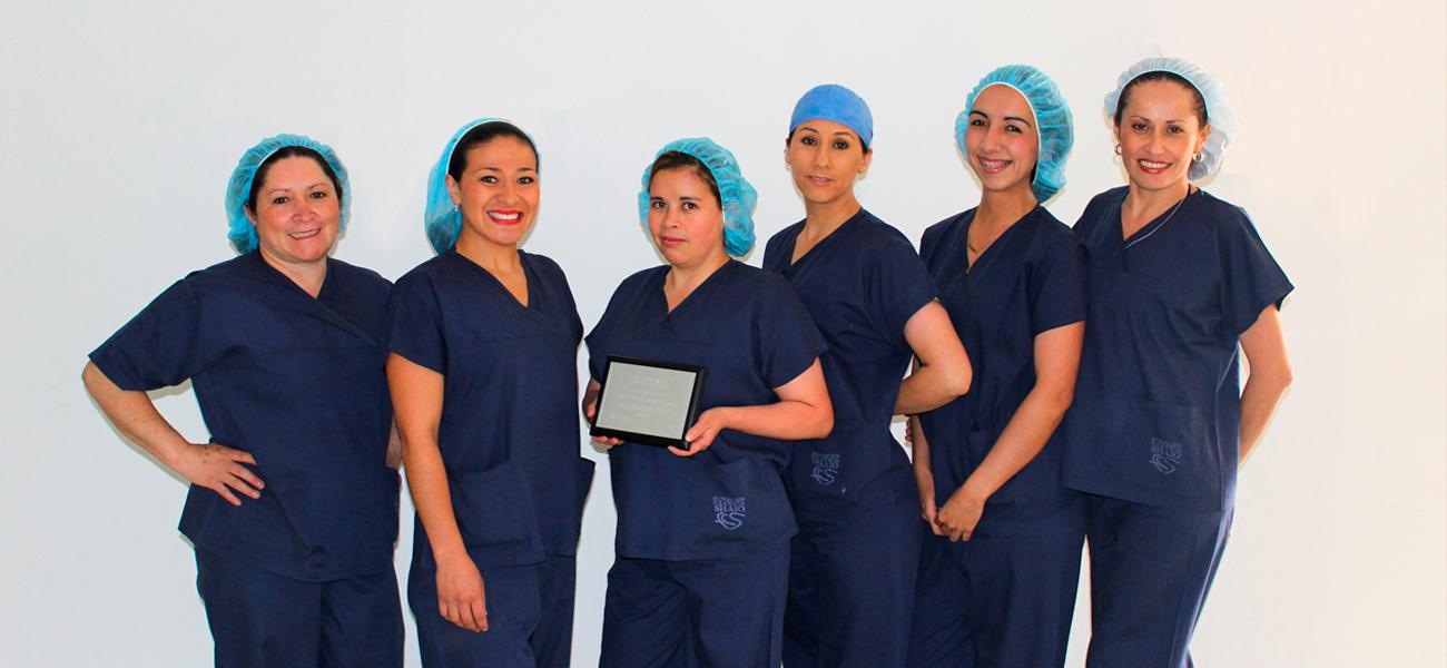 Premio esterilización en Shaio