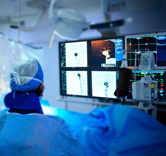 Neurocirugia tratamiento imagenes guia