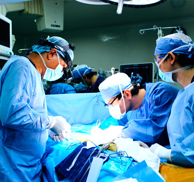Trasplante de corazón en Shaio